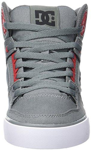 DC ShoesSPARTAN HIGH WC M SHOE - zapatillas deportivas altas Hombre Gris (Grey/Black/Red)