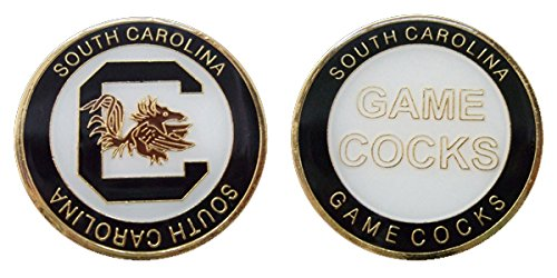 University of South Carolina Gamecocks Challenge Coin - South Carolina Game Day Chip