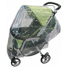 Sasha's Kiddie Products Single Stroller Rain and Wind Cover