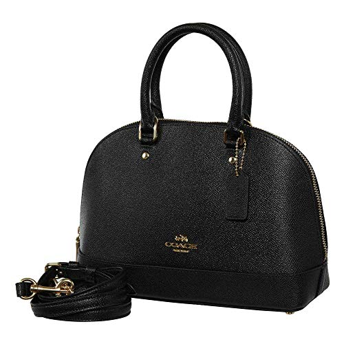 Women��s Black Shoulder Shoulder Purse Satchel Sierra Inclined Handbag Coach Mini wa4qdUw