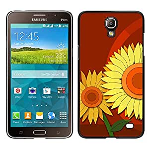 Stuss Case / Funda Carcasa protectora - Glowing Brown Stands - Samsung Galaxy Mega 2