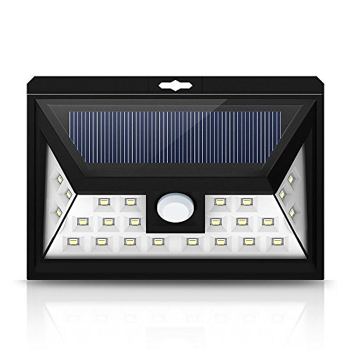 Amazon Lightning Deal 88% claimed: Litom Solar Motion Sensor Light, 24LED Outdoor Solar Powered Security Lighting Outdoors Motion Sensor LED Lights With 3 Sensing Modes for Patio, Deck, Yard, Driveway, Outdoor