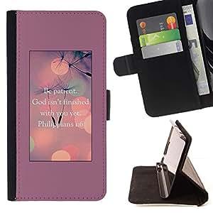 Momo Phone Case / Flip Funda de Cuero Case Cover - Dios inspirada motivación - Samsung Galaxy S6 Active G890A