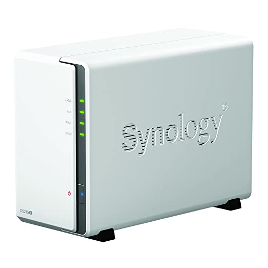 80 opinioni per Synology DS216J NAS Desktop Ethernet LAN White- NAS & storage servers (2000 GB,