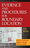 Evidence and Procedures for Boundary Location 9780471694472