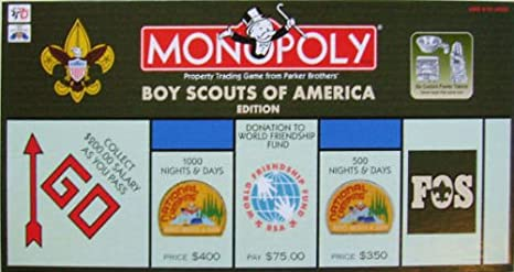 Monopoly Boy Scouts of America 95th Anniversary Edition: Amazon.es: Juguetes y juegos