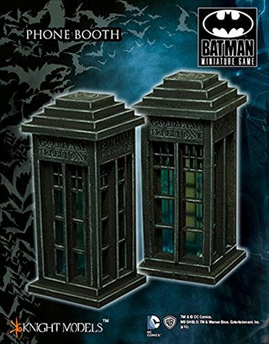 Player Model Bat - Batman Miniature Game: Scenery - Phone Booth