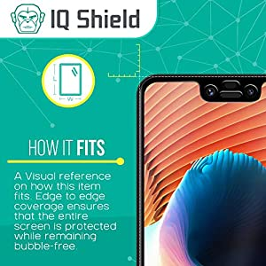 Google Pixel 3 XL Screen Protector (1-Pack), IQ Shield Tempered Ballistic Glass Screen Protector for Google Pixel 3 XL (3D Glass [Black]) 99.9% Transparent HD and Shatter-Proof Shield from IQ Shield