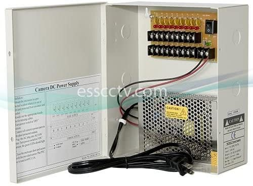 Power Supply Distribution Box – 12V DC 8 channels High Output 13 Amps, Resettable PTC Fuse