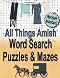All Things Amish Word Search Puzzles and Mazes