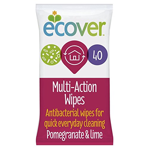 Antibacterial Multi Action Wipes - Pomegranate & Lime 40 Wipes (Lime Antibacterial Zest)
