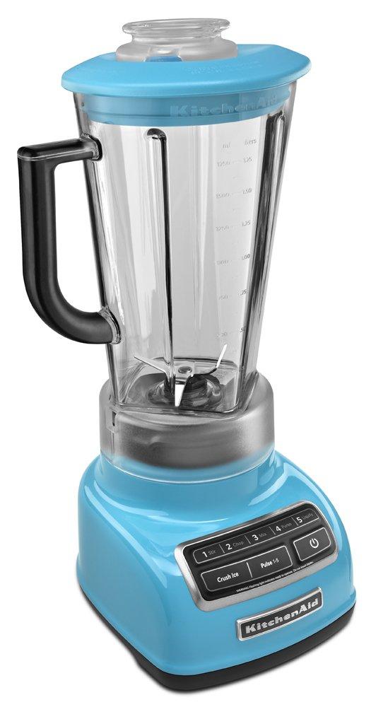KitchenAid KSB1575 Batidora de vaso 1.7L Azul - Licuadora (1,7 L, Batidora de vaso, Azul, Metal, Acero inoxidable, 228,6 mm): Amazon.es: Hogar
