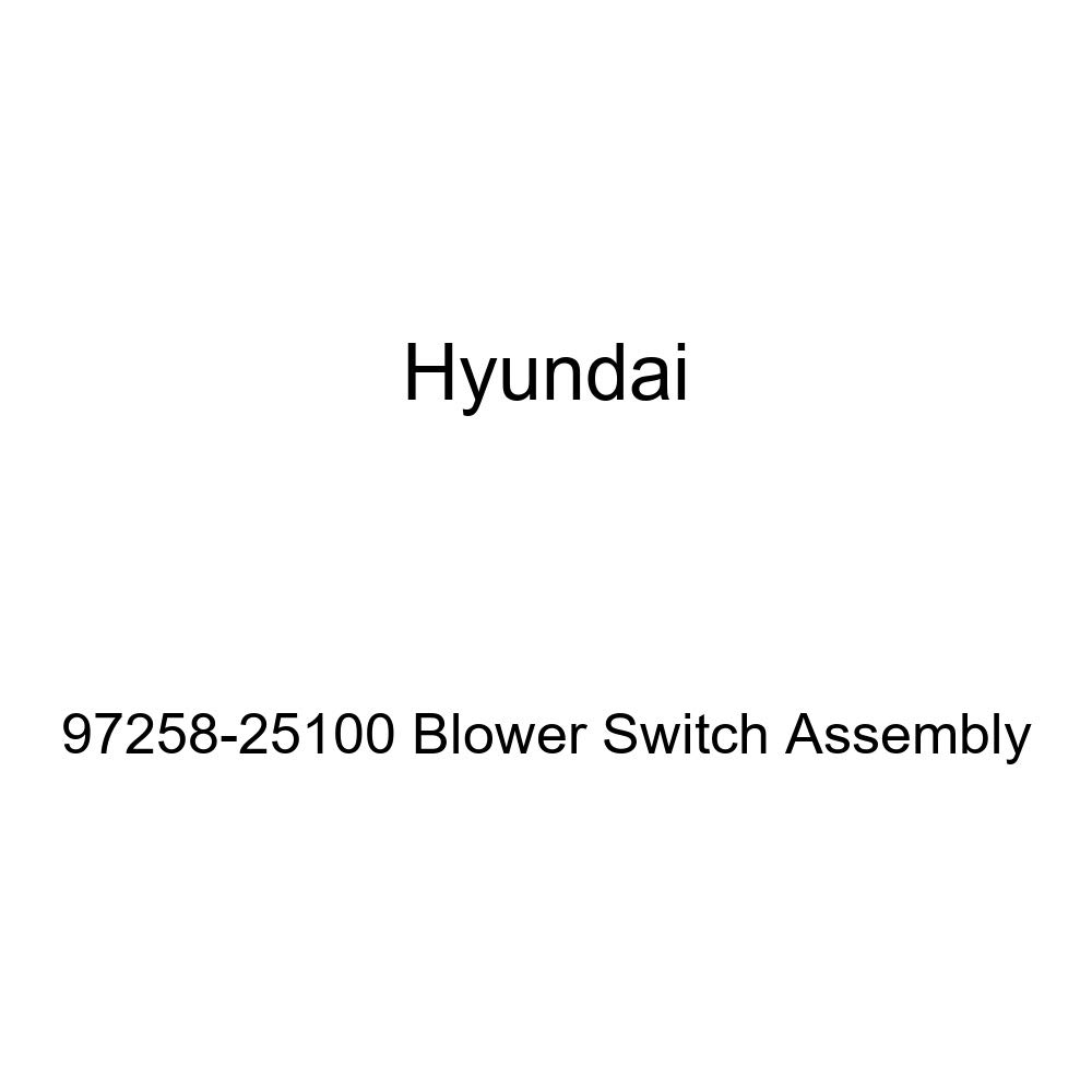 Genuine Hyundai 97258-25100 Blower Switch Assembly
