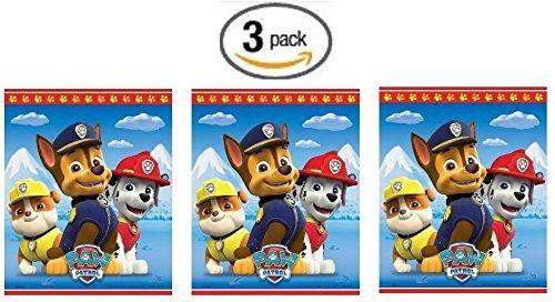 [Paw Patrol 8ct Goodie Bags - 3 Pack (Three Pack)] (Disney Princess Wedding Invitations)