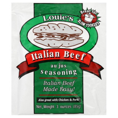 Louie's Italian Beef Seasoning, 3-ounce (Pack of 3) (Louie Italian Beef compare prices)