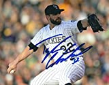Autographed Tyler Chatwood 8x10 Colorado Rockies Photo