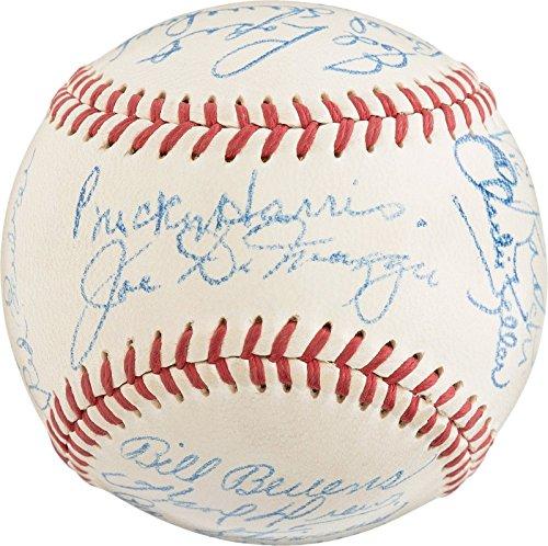 - Mint 1948 New York Yankees Team Signed American League Baseball PSA DNA COA