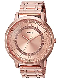 GUESS Women's Quartz Stainless Steel Casual Watch, Color:Rose Gold-Toned (Model: U0933L3)
