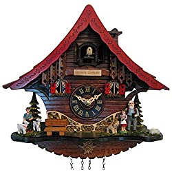 Cuckoo Clock - Quartz Heidi's Chalet with Music - Engstler