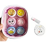 Contact Lens Case with Mirror Contact Lens Case Travel Kit Cute Contact Lense Case Cute Contact Lens Case 3 Pack