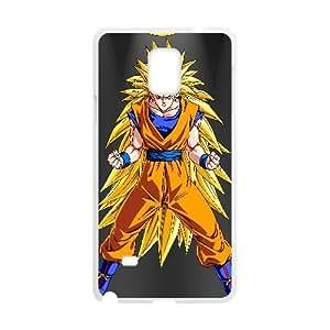 Son Goku Dragon Ball Z Anime5 Samsung Galaxy Note 4 Cell Phone Case White y2e18-368353