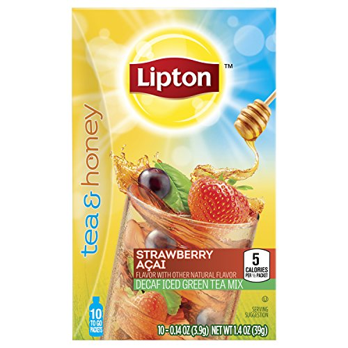 Lipton Honey Decaf Packets Strawberry