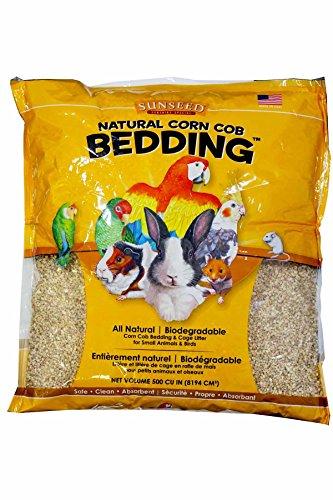 Sunseed Corn Cob Bedding - 8lb - 500 cu. in.