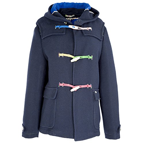 MANUEL RITZ Toggle Button Hooded Peacoat IT 50 Navy Blue