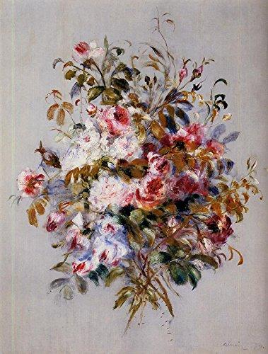 Auguste Pierre Roses Renoir - Pierre Auguste Renoir - A Bouquet of Roses Sterling and Francine Clark Art Institute - Williamstown, MA 30