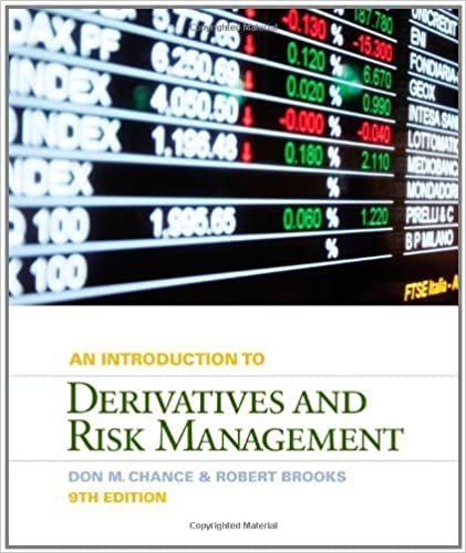 Download Introduction to Derivatives and Risk Management by Chance, Don M., Brooks, Roberts [Cengage Learning,2012] [Hardcover] 9TH EDITION PDF, azw (Kindle)