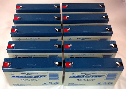 Compatible UPS Battery for Tripp Lite BC275 - 10 Pack