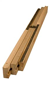 """38"""" Equalizer Slide (37"""" opening) in Soft Maple - Sold as Set - Dimensions: 38 x 2 3/8 inches"""