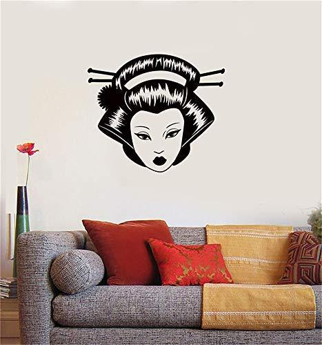 (Alfr1411Meg Mickey Mouse Sticker Wall Geisha Japan Japanese Oriental)