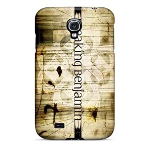 Perfect Hard Phone Cover For Samsung Galaxy S4 With Unique Design Realistic Breaking Benjamin Band Image MansourMurray