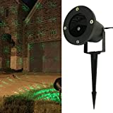 Allgala Christmas Garden Laser Light Project for Indoor and Outdoor