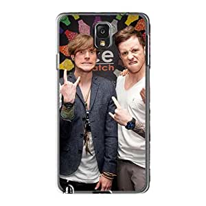 Best Hard Phone Cover For Samsung Galaxy Note3 (CyM6647bExk) Allow Personal Design Realistic Mcfly Band Image
