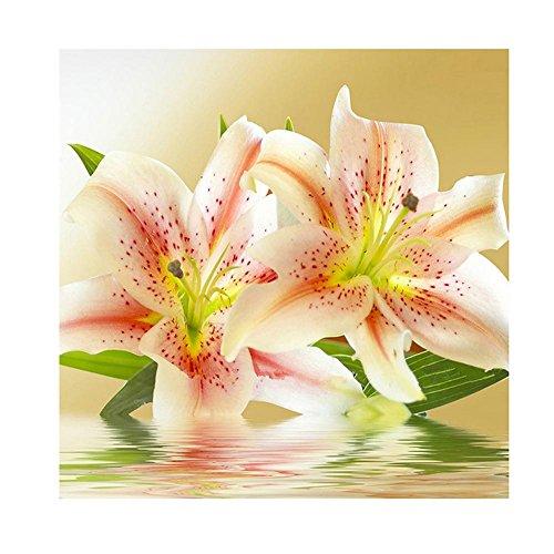 UEB Diamond Painting Lily Flowers Cross Stitch Embroidery Wa