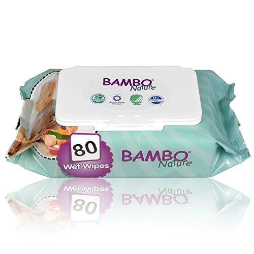 Toallitas Húmedas Bambo 80 Unidades Abena 1000006339