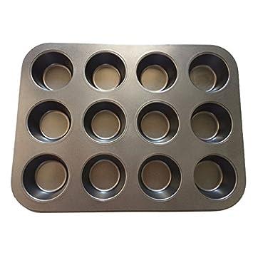 weilinker 3 pcs/lot para hornear moldes para hornear molde para Pancake antiadherente para magdalenas y para hornear herramienta de cocina Buen ayudante: ...