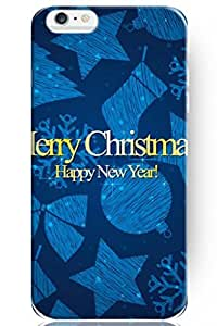 "ZLXUSA(TM) New Personalized Hard Christmas for iPhone 6 Plus (5.5"") Case"