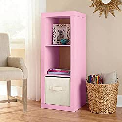 Better Homes and Gardens 3-Cube Organizer Storage Bookshelf