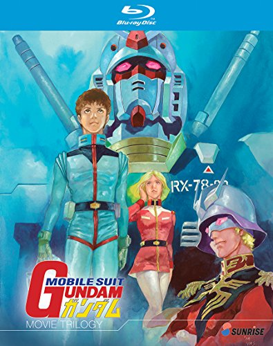 Mobile Suit Gundam Movie Trilogy Blu-ray Collection by Right Stuf