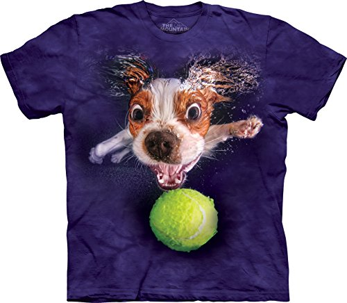 The Mountain Adult Underwater Dog Monty Seth Casteel T Shirt