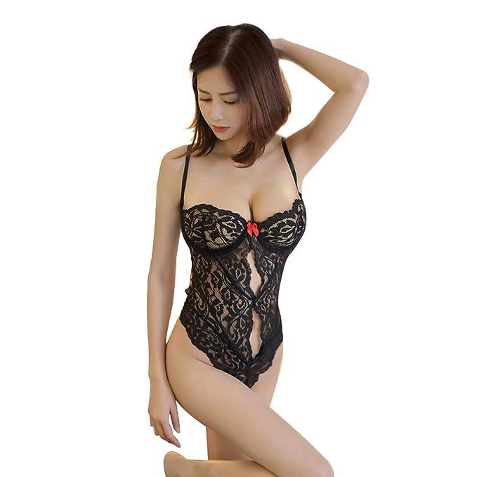 Hokly Ropa Interior Mujer, Ropa Interior Sexy Mujer, tentaciones Siamés Encaje Ropa Interior erótica: Amazon.es: Ropa y accesorios