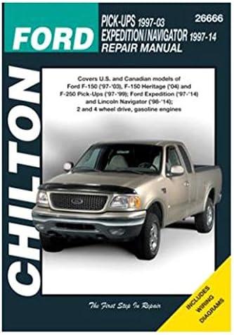 Amazon.com: Chilton Total Car Care Ford Pick-Ups/Expedition/Navigator,  97-09 (26666): AutomotiveAmazon.com