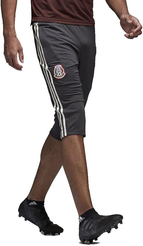 adidas Men/'s Germany 3//4 Length Football Training Pants Black