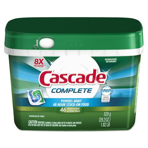 Complete ActionPacs, Fresh Scent, 1.82 lb Tub, 46/Tub (6 Tubs/Carton) - BMC- PGC91165CT by Miller Supply Inc