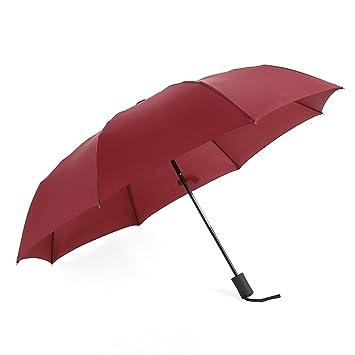 odowalker automática paraguas uno botón Abrir y cerrar paraguas de viaje compacto protección UV sombrilla irrompible