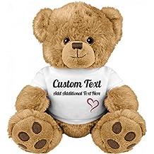 Cute Custom Teddy Bear Gift: Medium Teddy Bear Stuffed Animal