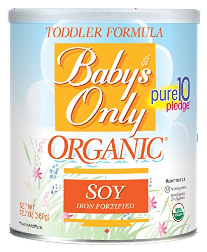BABY S ONLY ORGANIC TODDLER FORM,OG2,SOY,KSHR 12.7 OZ pack of 6